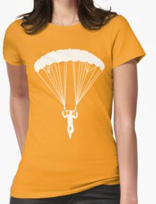 scissor suicide skydive Womens Fitted T-Shirt