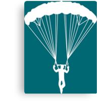 scissor suicide skydive Canvas Print