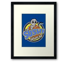 Gollums Sushi Bar Framed Print