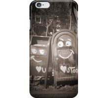 love mailboxes iPhone Case/Skin