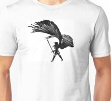 Angel Print Unisex T-Shirt