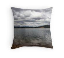 Across the Tamar from Gravelly Beach - Tasmania Throw Pillow