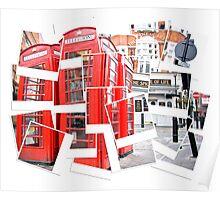 Polaroid cubism Poster