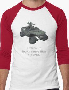 I think it looks more like a puma Men's Baseball ¾ T-Shirt
