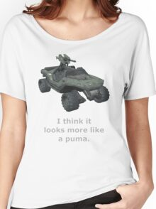 I think it looks more like a puma Women's Relaxed Fit T-Shirt