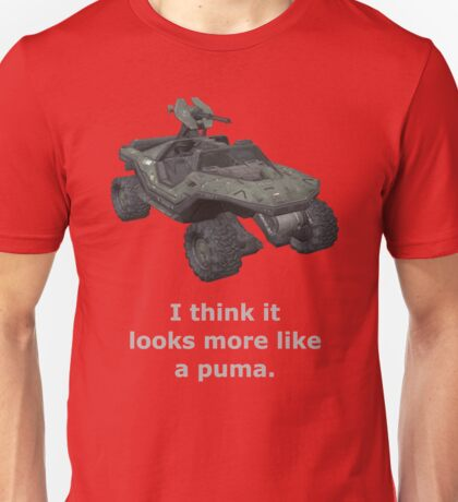 I think it looks more like a puma Unisex T-Shirt