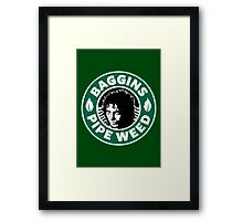 Baggins Pipe Weed Framed Print