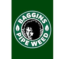 Baggins Pipe Weed Photographic Print