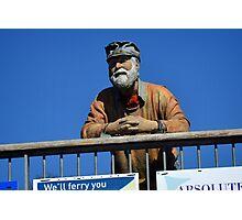 King Harry Ferry Figure.......... Photographic Print