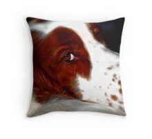 Portrait of Molly Throw Pillow
