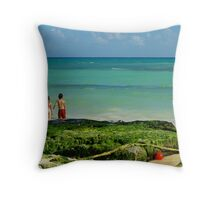 Playa del Carmen Throw Pillow