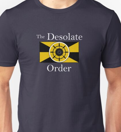 The Desolate Order - white text Unisex T-Shirt
