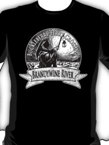 Buckleberry Ferry Crossing - Brandywine River T-Shirt