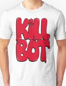 Killbot Bubble Text Red T-Shirt