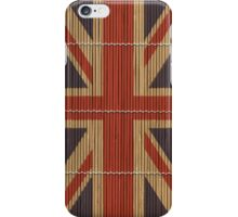 "Union Jack ""Bamboo"" iPhone Case/Skin"