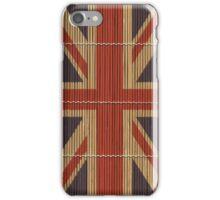 """Union Jack """"Bamboo"""" iPhone Case/Skin"""