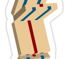 jacob's ladder Sticker