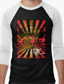 Disc Jockey Men's Baseball ¾ T-Shirt