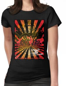 Disc Jockey Womens Fitted T-Shirt