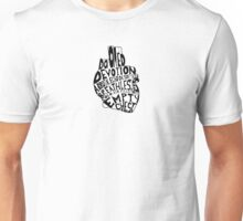 empty chest : anatomical heart (small) Unisex T-Shirt