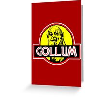 Gollum Greeting Card