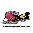 Mickey's Older Brother   by david michael  schmidt