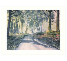 """Shadows on Setterington Road"" Art Print"