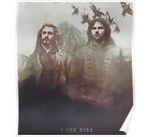The Hobbit: I See Fire Poster