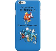 Magikarp #129 - Struggle! iPhone Case/Skin
