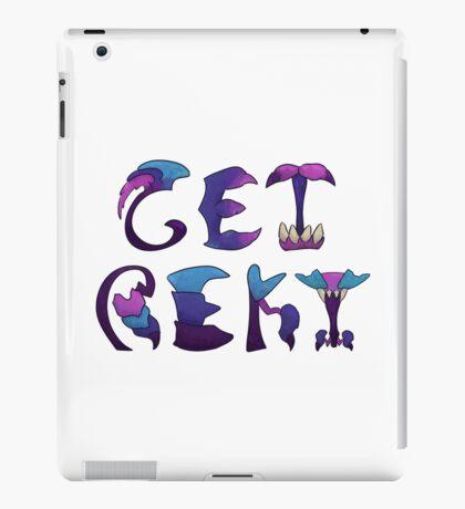 Get Rekt - white background iPad Case/Skin