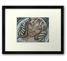 The Willow Faerie Framed Print