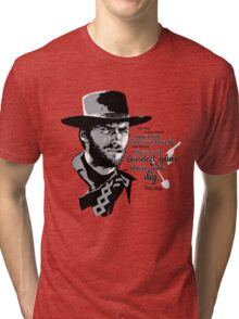 The Good, the Bad and the Ugly Tri-blend T-Shirt