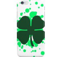 shamrock bubbles iPhone Case/Skin