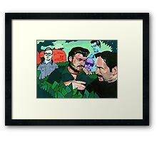 Trailer Park Boys Art Framed Print