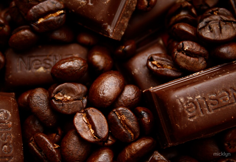 Coffee and chocolate by micklyn