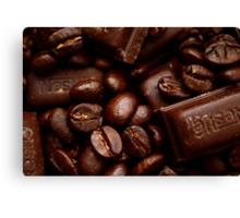 Coffee and chocolate Canvas Print