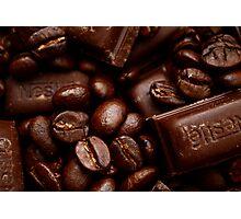 Coffee and chocolate Photographic Print