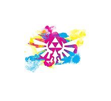 Watercolor Hyrule Photographic Print