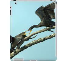 Leave or Else iPad Case/Skin