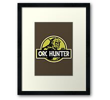 Orc Hunter Framed Print