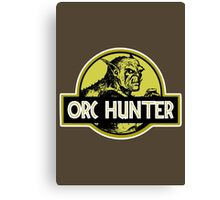 Orc Hunter Canvas Print