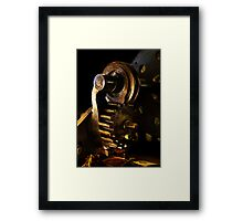 Smell the Grease! Framed Print