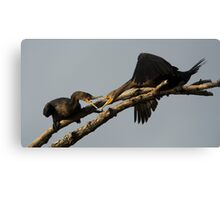 I Will Bight Your Head Off Canvas Print