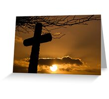 John 11 25-26 Greeting Card