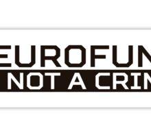 Neurofunk Black Sticker