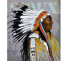 Sioux  Photographic Print