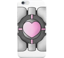 Portal Companion Cube - Shaded iPhone Case/Skin