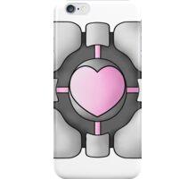 Portal Companion Cube - Shaded iPhone Case/Skin