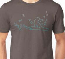 board with birds and bubbles Unisex T-Shirt