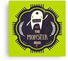 The Monster Beer Canvas Print